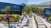 Kantor Google dan Facebook