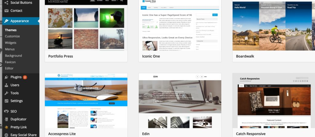 free_wordpress_blog_themes - Cara Membuat Website