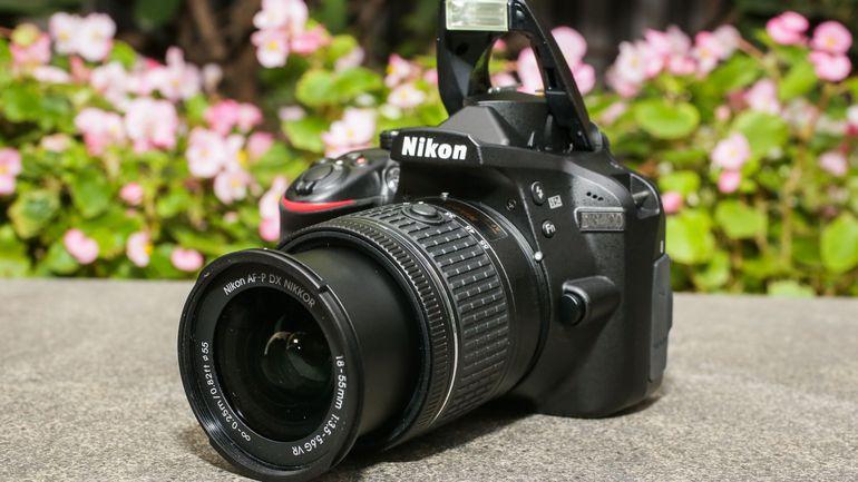 12-nikon-d3400 -kamera terbaru untuk pemula
