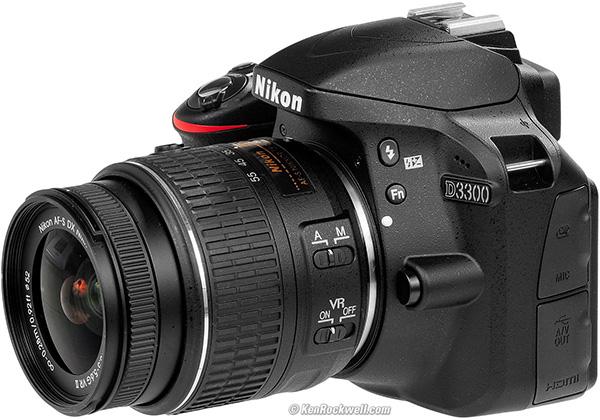 D3300 - kamera terbaik untuk pemula