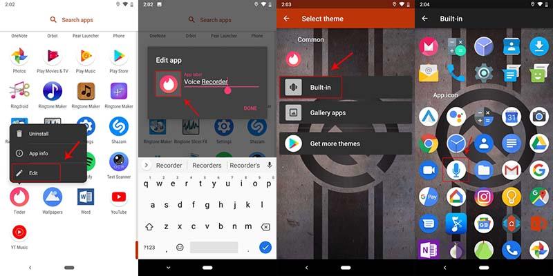 Nova Launcher Penyembunyi Aplikasi