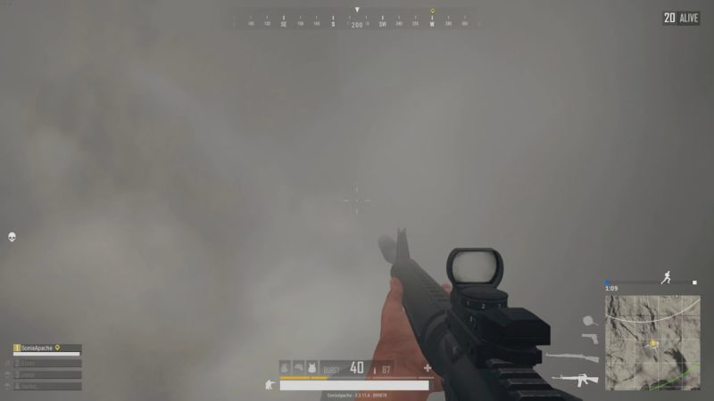 pubg mobile smoke grenade