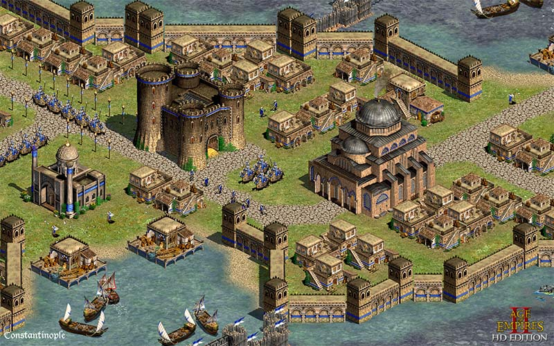 Age of Empires 2 HD Constantinople