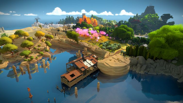 The Witness - game pc terbaik