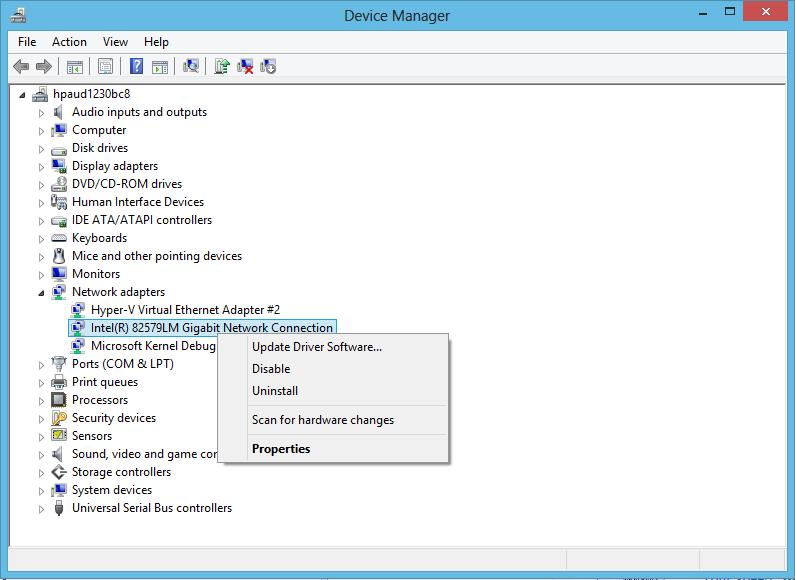 device manager - cara mengaktifkan wifi