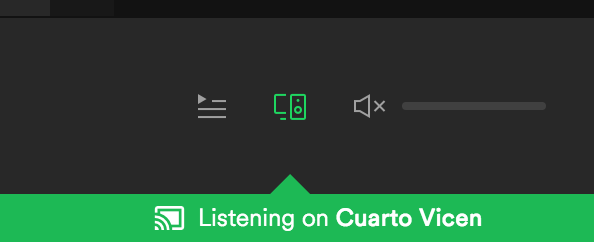 spotify volume control