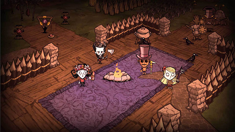 dont starve gameplay