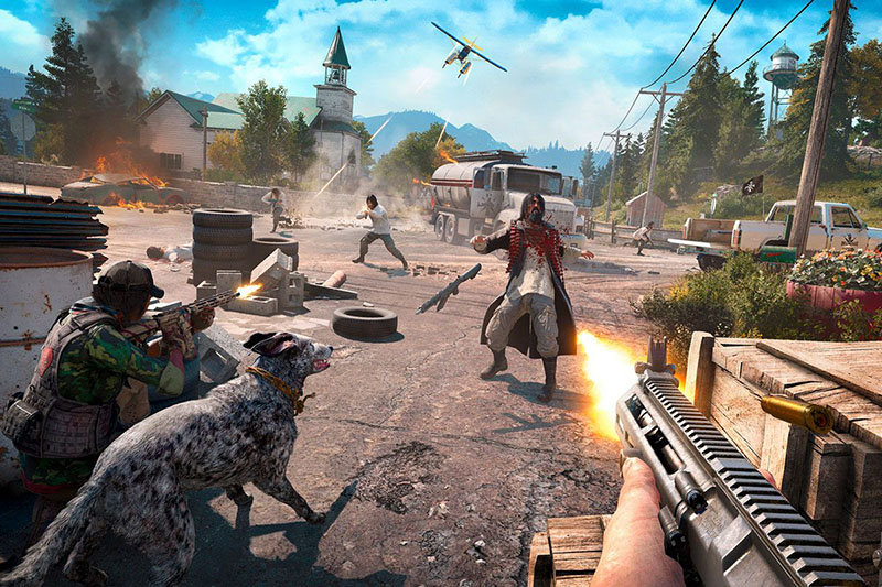 Far Cry 5 - Game Berat