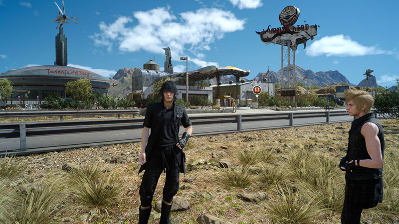 Final Fantasy XV - game terberat