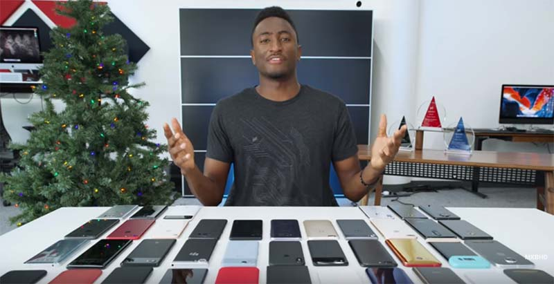 Marques brownlee smartphone award