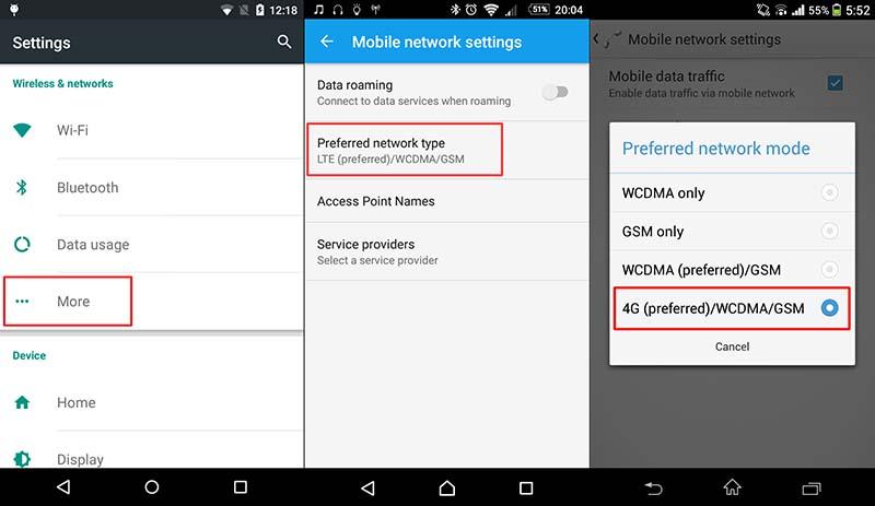 Cara Merubah Jaringan 3g Ke 4g Di Semua Smartphone Ruanglaptop