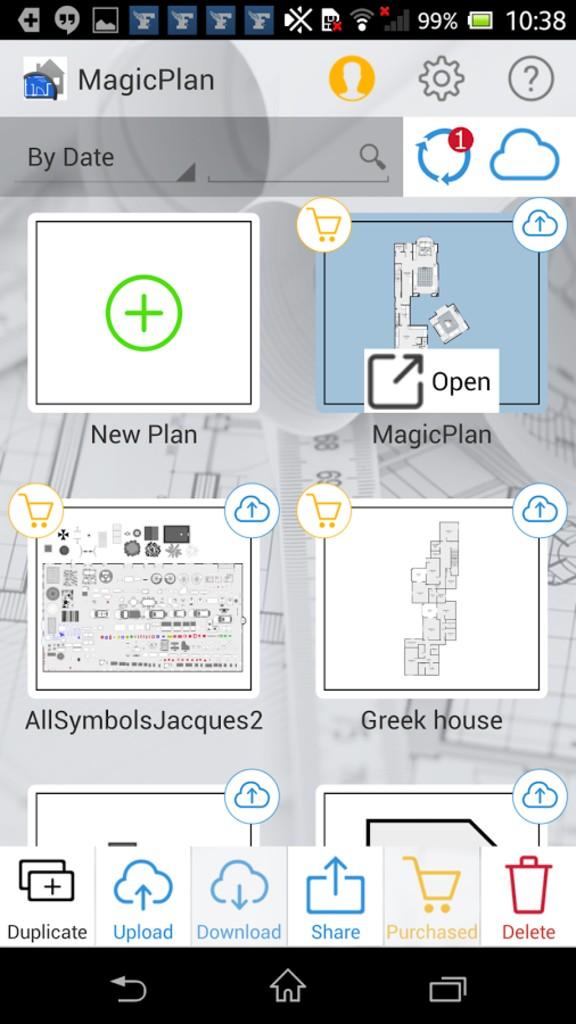 MagicPlan android