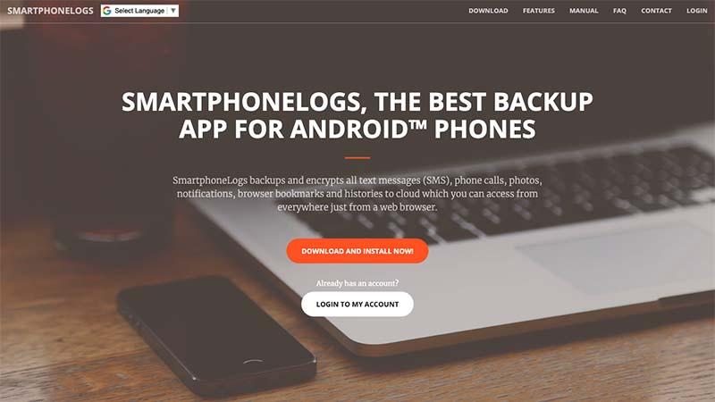 Smartphonelogs homepage