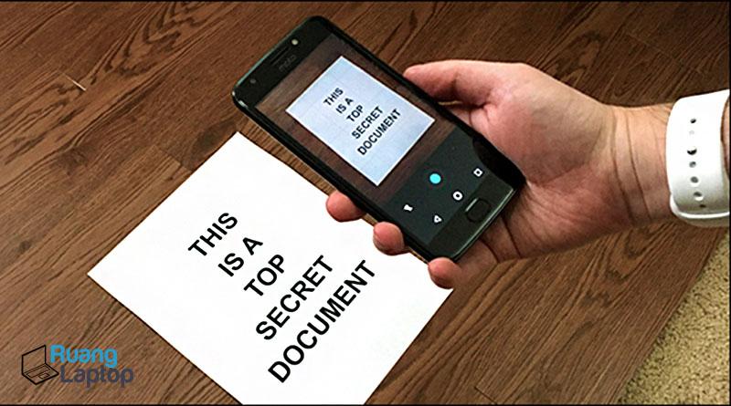 scan dokumen dari android