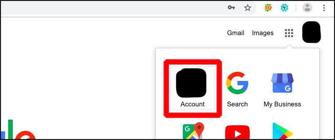 pengaturan akun google