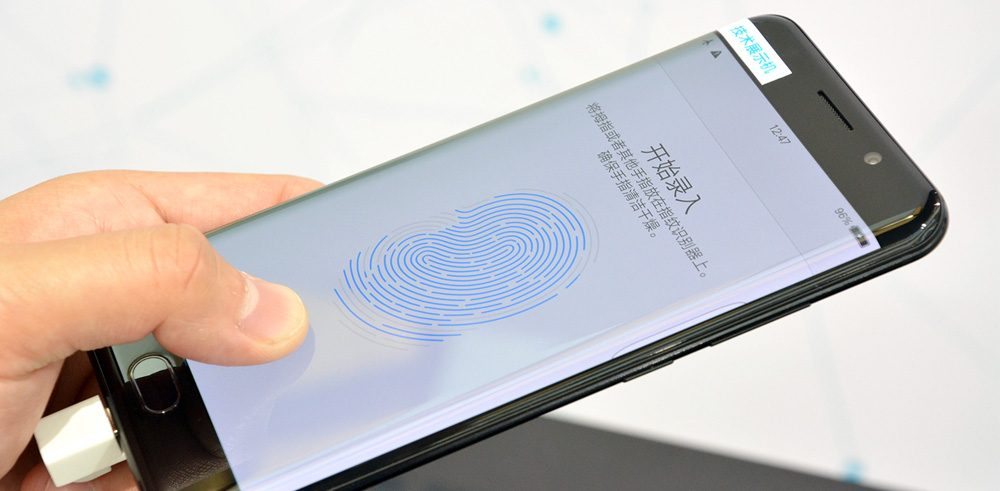 screen fingerprint scanner