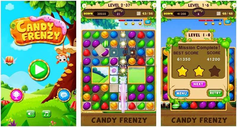 Candy Frenzy landscape