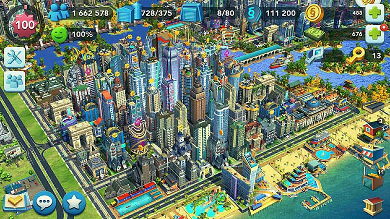 SimCity Buildlt - game iseng penghilang bosan