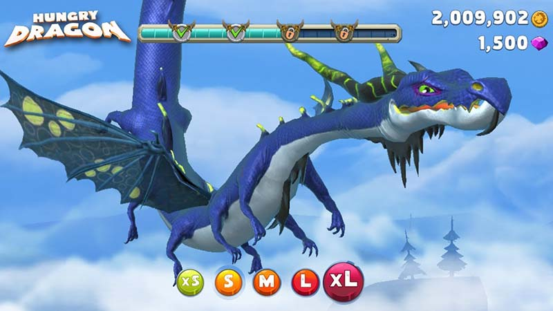 hungry dragon - game iseng penghilang bosan