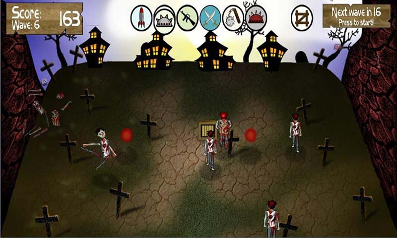 zombie smasher android game
