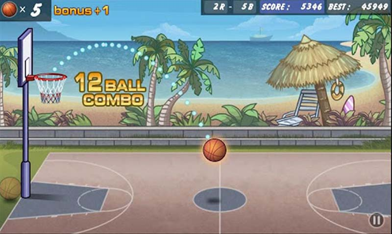 basketball shoot android game