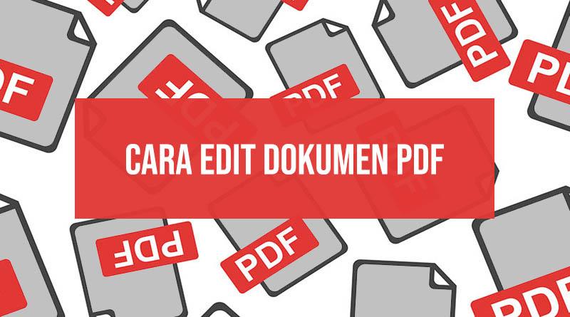 Cara edit dokumen pdf