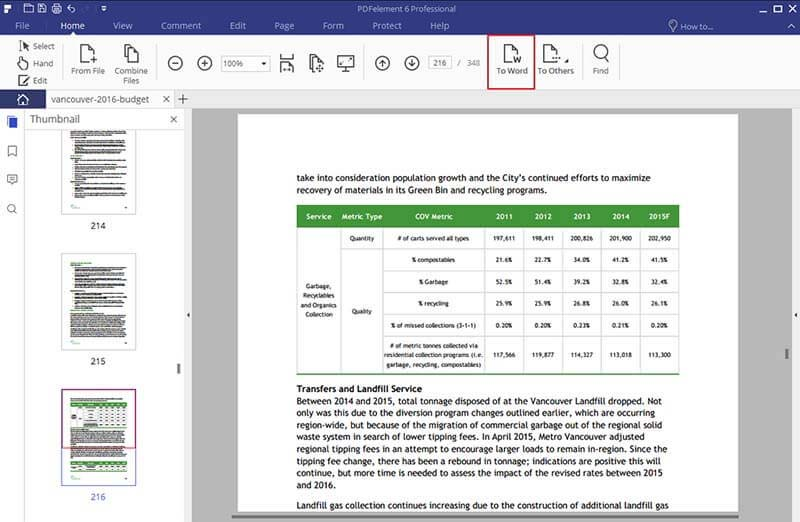 Edit PDF di Microsoft Word