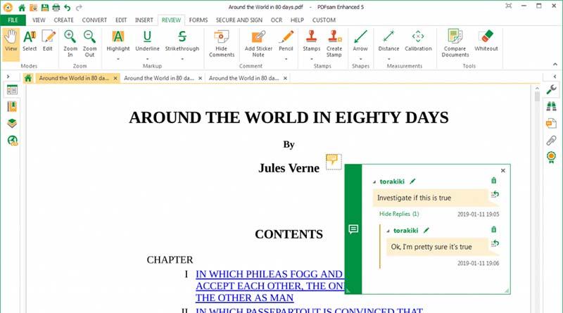 Edit PDF di PDFsam