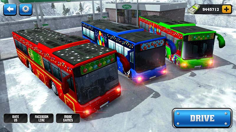 offroad bus hill driving 2017 game android