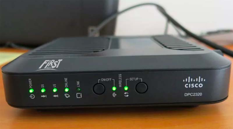 Router Cisco FirstMedia