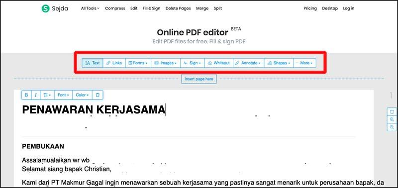 4 Cara Mudah Edit File Pdf Bisa Online Ruanglaptop