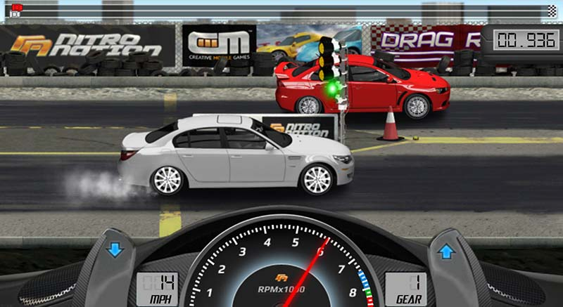 drag racing android game
