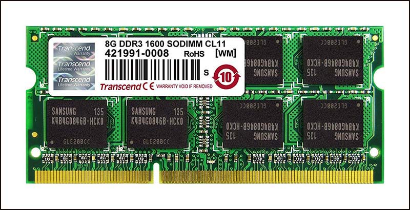 ram laptop 8gb