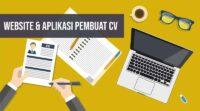 Website dan aplikasi pembuat cv