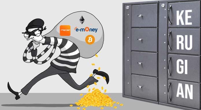 Kerugian uang digital