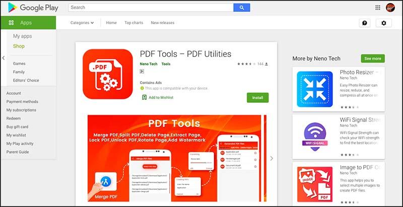 PDF Tools – PDF Utilities