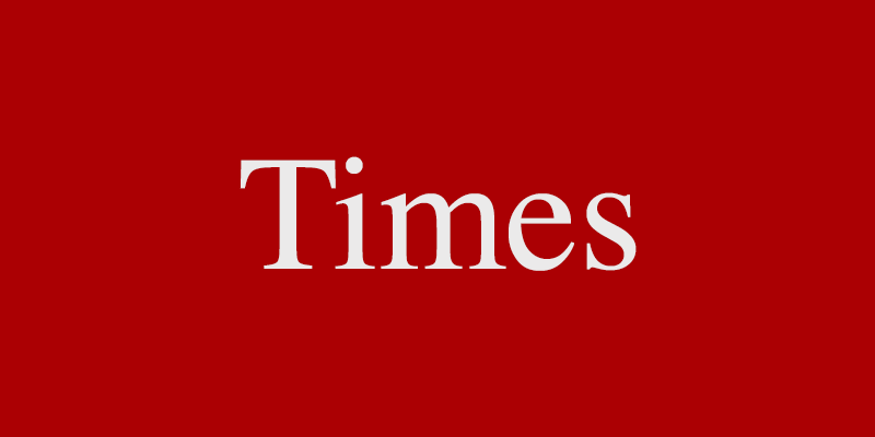 Times Font