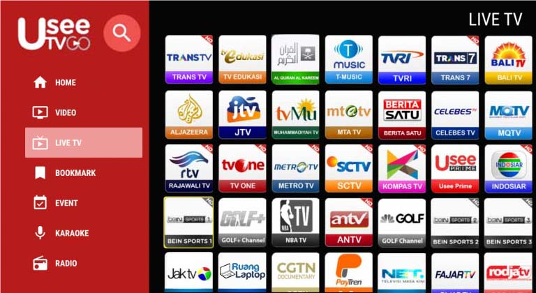 Usee TV Live TV