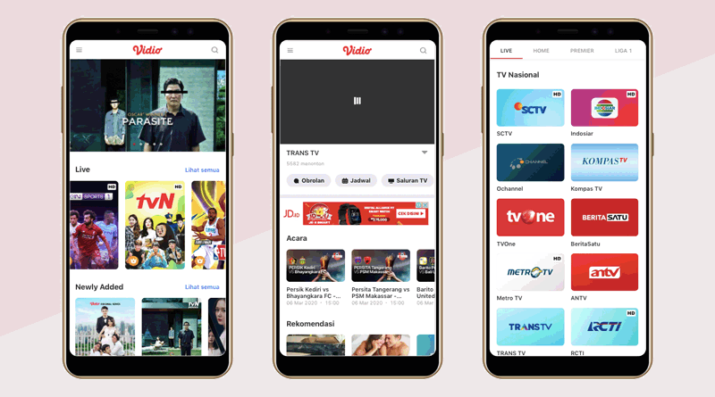 Vidio – Nonton TV & Video