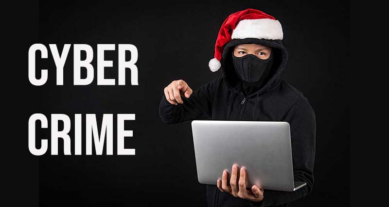 cyber crime laptop