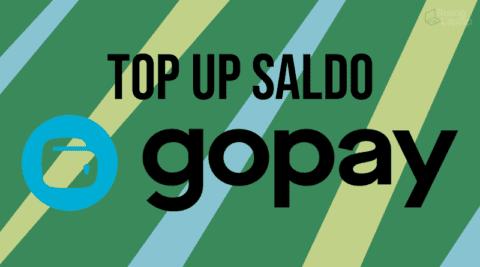 Cara Top Up Saldo GoPay