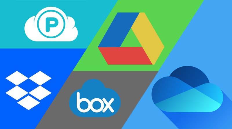 Penyimpanan file cloud online