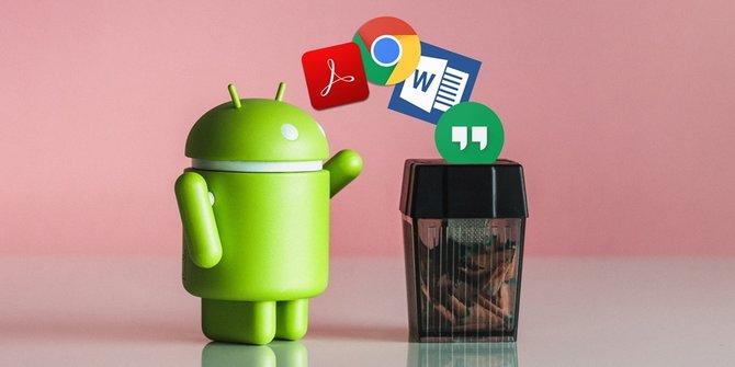 cara membersihkan ram android - Hapus Aplikasi yang Jarang Digunakan