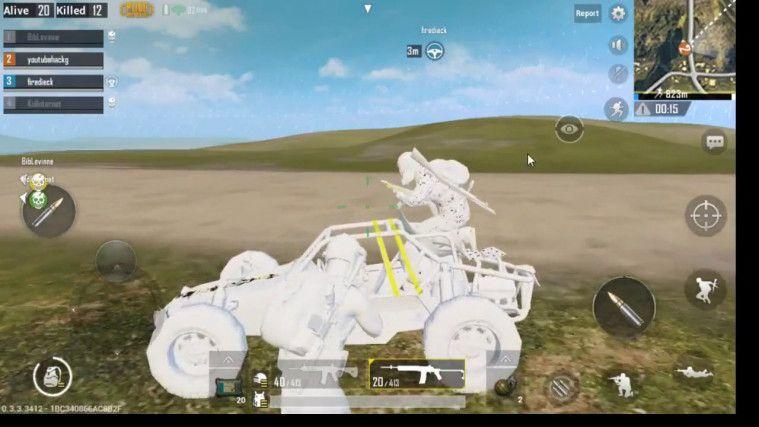 Cheat PUBG mobile No Grass