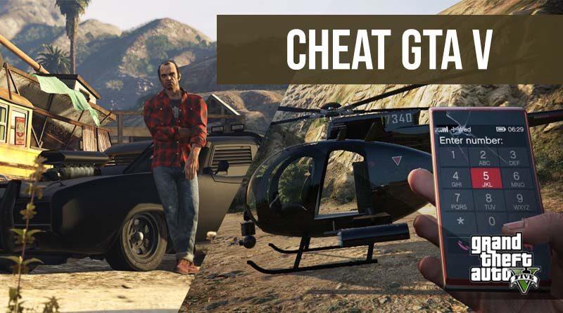Cheat GTA V PC PS XBOX