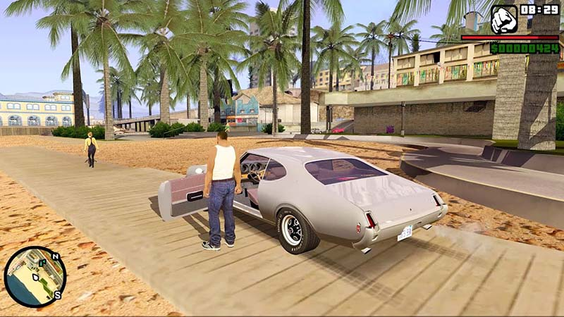 GTA San Andreas grafik bagus