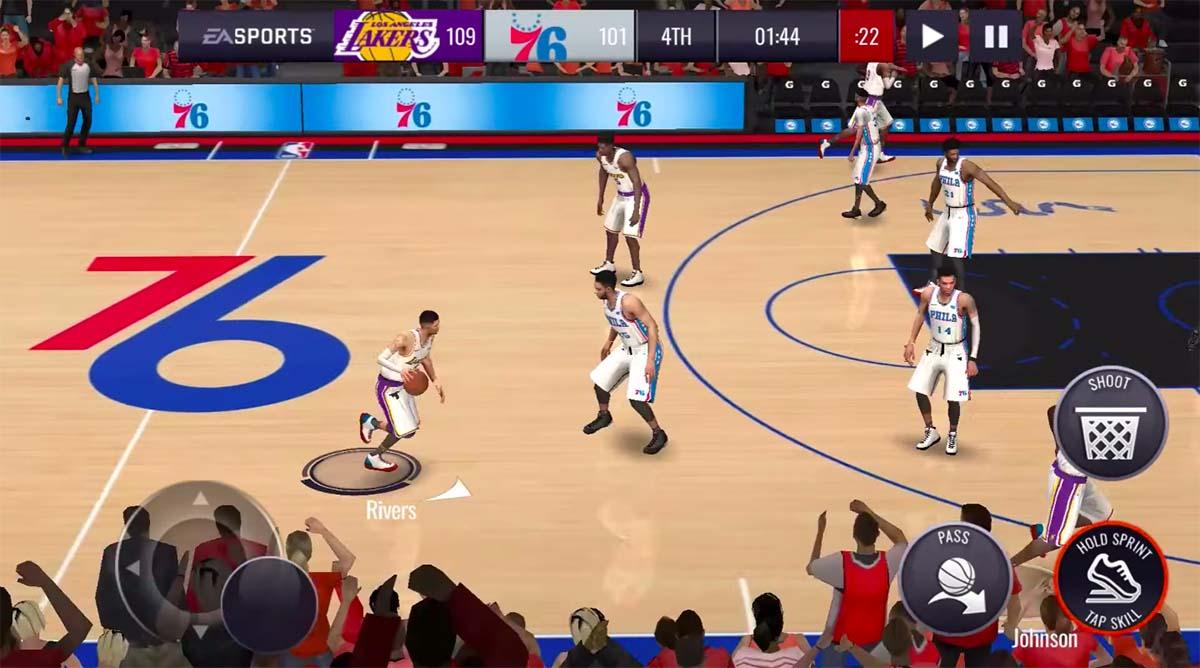 NBA LIVE Mobile 21
