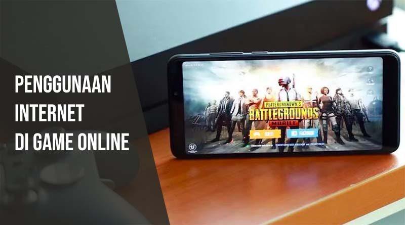 Penggunaan internet di game online android