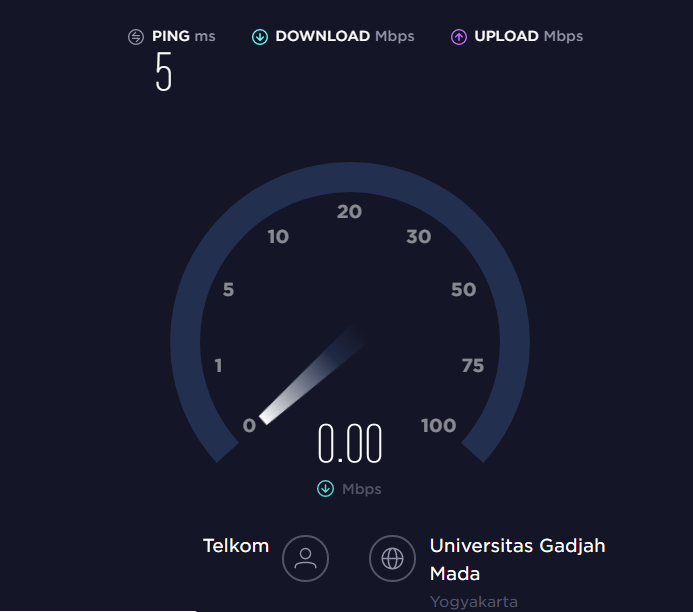 cara cek kecepatan internet Speedtest.net