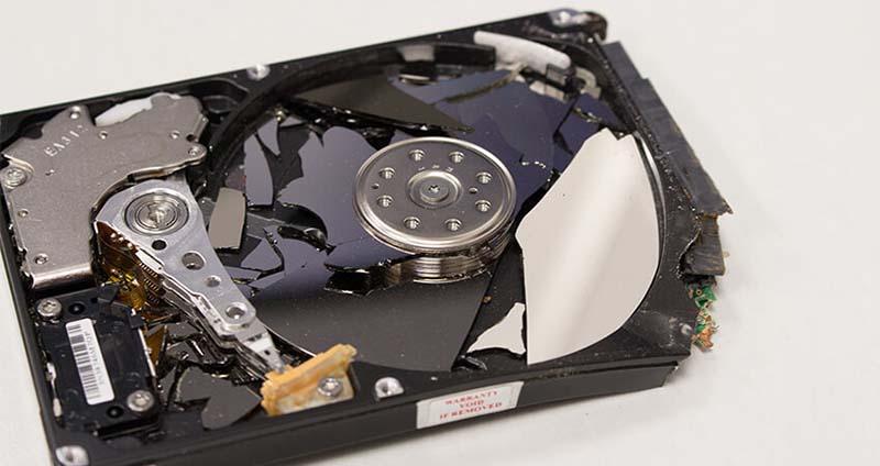 harddisk pecah disk